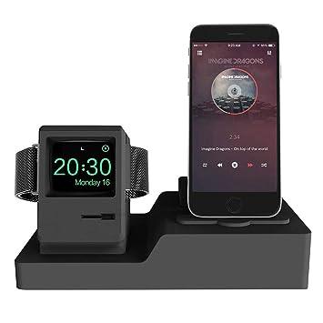 Teepao Cargador 3 en 1 para iPhone AirPods Apple Watch ...