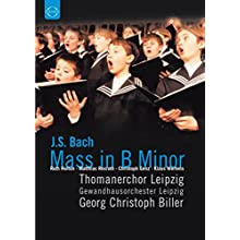 Bach - Mass in B Minor / Ruth Holton, Matthias Rexroth, Christoph Genz, Klaus Mertens, Georg Christoph Biller (2000)