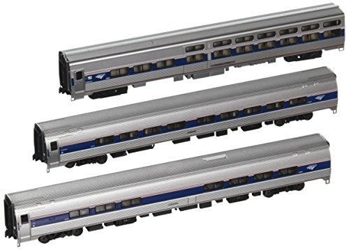 Products Amfleet and Viewliner Intercity Express Phase VI Bookcase Set, 3-Unit Set (Intercity Train)