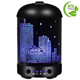 COOSA Empire State Building Designed 100ml Ultrasonic Essential - Best Reviews Guide