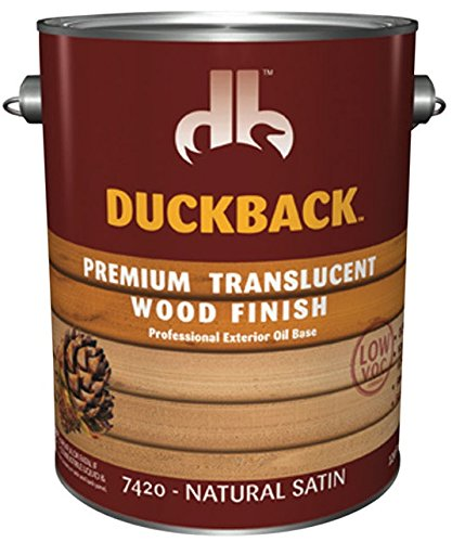 Duckback Products SC-7420-4 Natural Satin Sealer ()
