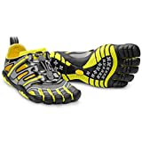 Vibram TrekSport Sandal, Grey/Yellow/Black, 46