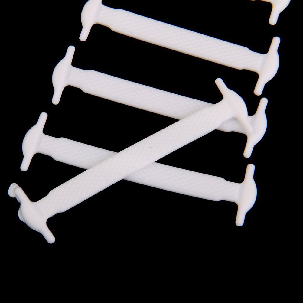 e730206ef71 Tinksky Conjunto de 12 Piezas Cordones Elástico de Silicona de Zapatos para  Niños  Amazon.es  Electrónica