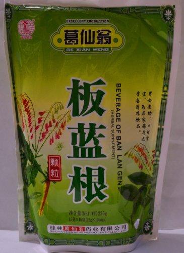Herbal Supplement- Ban Lan Gen Herbal Tea Instant Drink Isatis Root Beverage ()