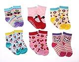 SDBING Baby's Boys Girls Toddler Cute 12-pair Thick