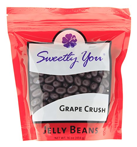 Jelly Belly 16 OZ Grape Crush Flavored Beans.  bulk jelly be