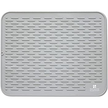 Perfect Amazon.com: Premium XL Silicone Dish Drying Mat | Anti-Bacterial  QU94