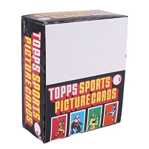 Large Product Image of 1986 Topps Baseball Card Rack Pack Box (24 Packs with 49 Cards Per Pack)