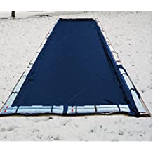 12 mil swimming pool solar blanket cover 18 x 36 ft rectangle for Swimming pool solar heaters amazon