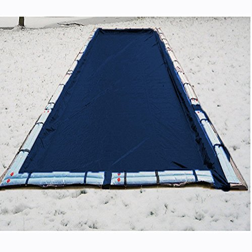 18'x36' Rectangle GLACIER Inground Swimming Pool Winter Cover Lightweight 10 Year Warranty