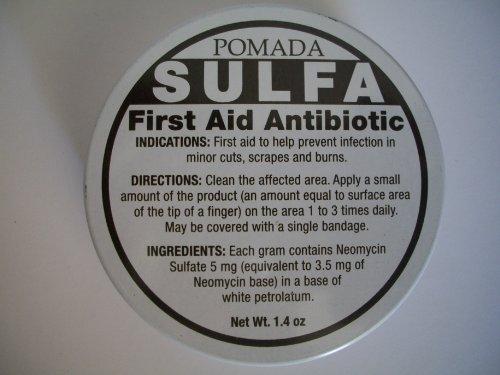Pomada Sulfa First Aid Antibiotic