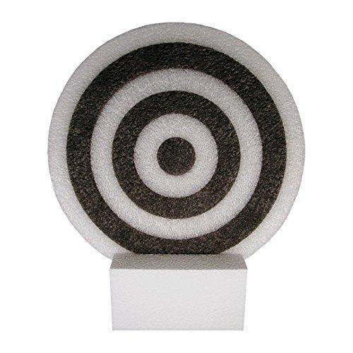 Blowgun Round Target w Stand 12 x (Blow Gun Foam Target)
