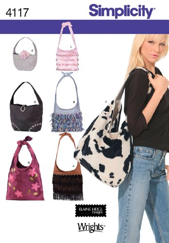 Simplicity Sewing Pattern 4117 Accessories, One Size