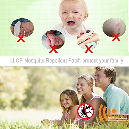 LLOP Mosquito Repellent Patch, 300 Pieces of Natural Mosquito Repellent Patch, DEET Free Insect & Bug Repellent Stickers