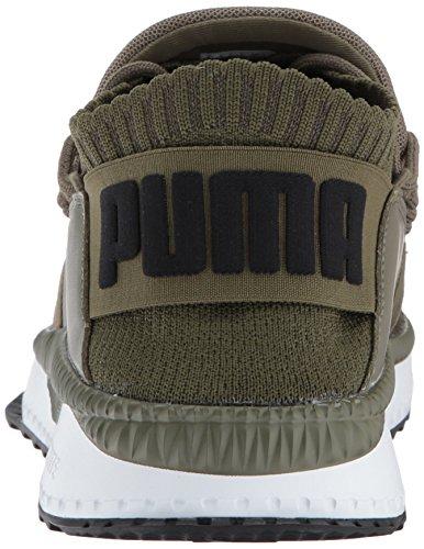 Puma Uomo Tsugi Shinsei Sneaker Oliva Notte-puma Bianco