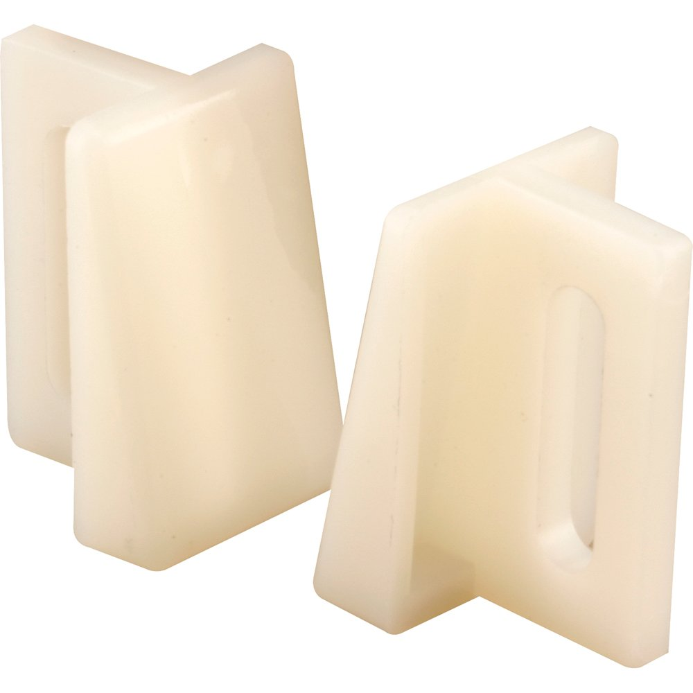 Prime-Line N 6950 Pocket Door Bottom Guide, Nylon,(Pack of 2)