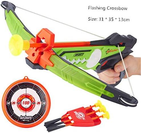 子供用ゲームの弓と矢 ターゲットアローホルダーと弓と矢セットのための子供のおもちゃアーチェリーセット(3 Xアローズ、1 Xボウ、1 Xアローキャリア、1 Xブルズアイ) 子供の弓と矢のおもちゃ (色 : Photo colors, Size : 31x35x13cm)