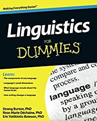 Image of the product Linguistics for Dummies   that is listed on the catalogue brand of Brand: For Dummies.