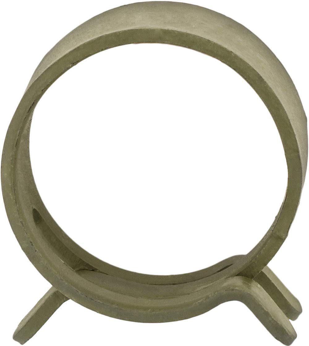 100 5/8'' Spring Action Hose Clamps Olive by Clipsandfasteners Inc