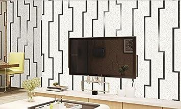 115b036509937e Wallpaper stereoskopischen 3D-Mode Film und Fernsehen Wanddekoration Tapete moderne  Einfachheit Weiß