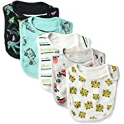 Rosie Pope Baby Boys' 5 Pack Bibs