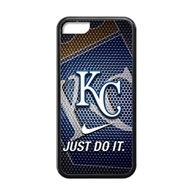 MLB Kansas City Royals Iphone 5C TPU Cool Cover Case-Nike Just Do It