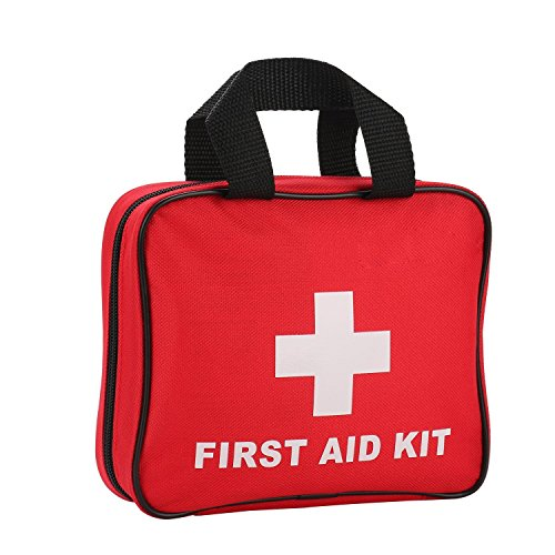 JIEXING First Aid Kit With 105 Pieces Medical Emergency Bag for Home,Survial,Car,Travel,Sports,Outdoor,Hunting. by Jiexing