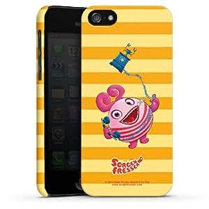 Carcasa Design Funda para Apple iPhone 5 PremiumCase white - SORGENFRESSER Frula