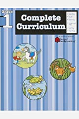 Complete Curriculum: Grade 1 (Flash Kids Harcourt Family Learning) Paperback