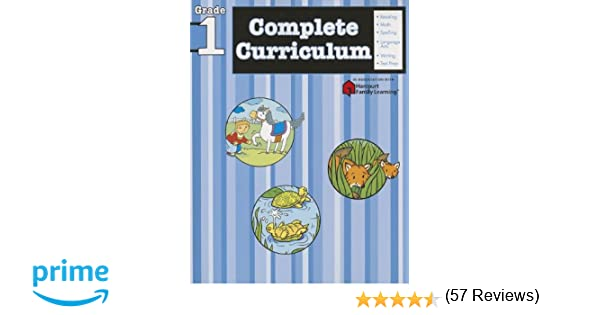 Complete Curriculum: Grade 1 (Flash Kids Harcourt Family Learning ...