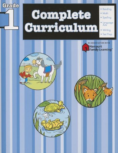 Complete Curriculum: Grade 1 (Flash Kids Harcourt Family Learning) (Best K2 Supplement Brand)