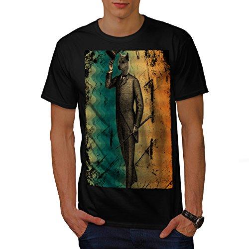 Dandy Gentleman Dog Classy Suit Men NEW S T-shirt | Wellcoda ()