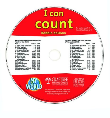 Read Online I Can Count (My World) PDF