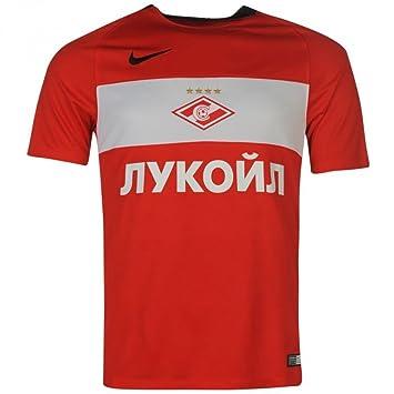 b7e2e8d212316 2016-2017 Spartak Moscow Home Nike Football Shirt, Jerseys - Amazon ...