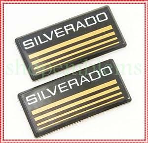 Amazon.com: 88-98 Chevy Silverado Side Pillar Emblems Roof