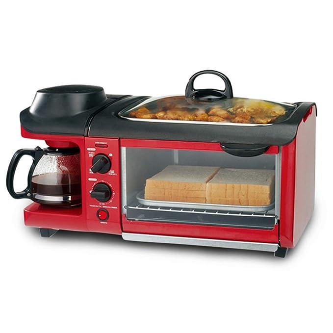 HENRYY Máquina de Desayuno, Horno casero, máquina de Pan, máquina ...