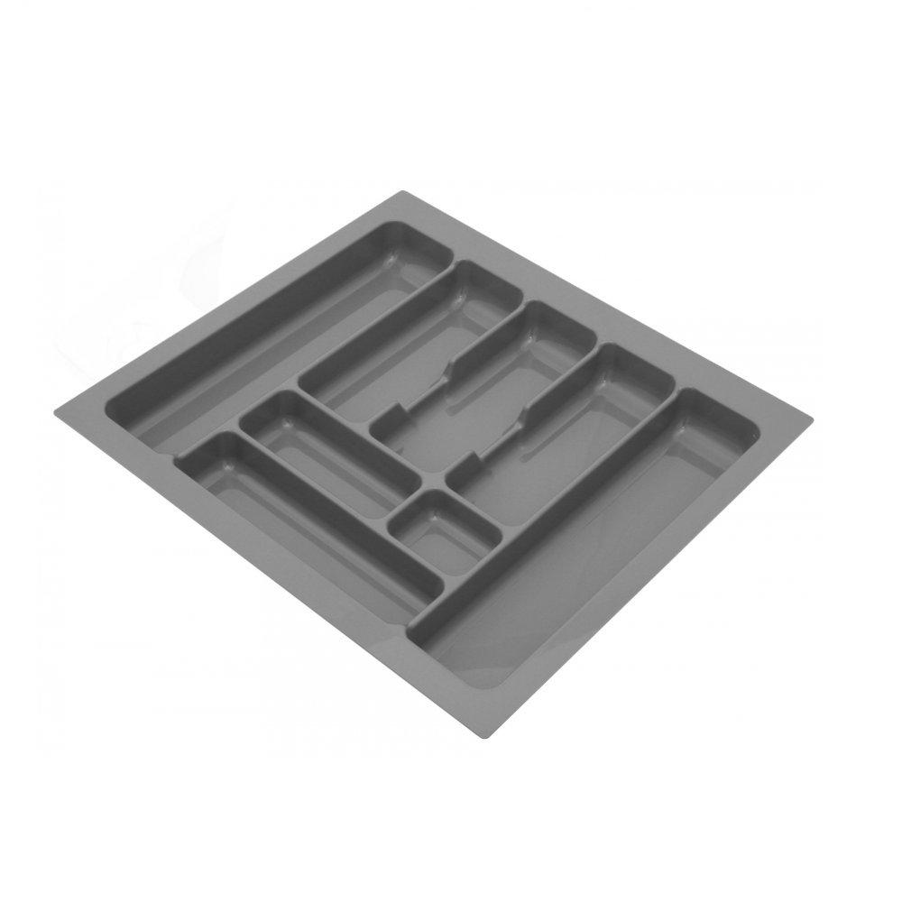 Plastica portaposate per cassetti da cucina. W: 30cm (250x490mm) Metallic Furnica