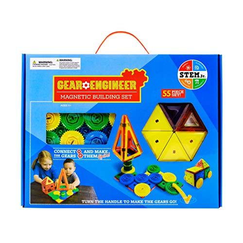 (STEM Gear Engineer Magnetic Building Set)