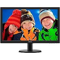 Philips V-line 243V5LSB 23.6 LED LCD Monitor - 16:9 - 5 ms