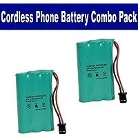 Rayovac RAYM182 Cordless Phone Battery Combo-Pack includes: 2 x BATT-446 Batteries