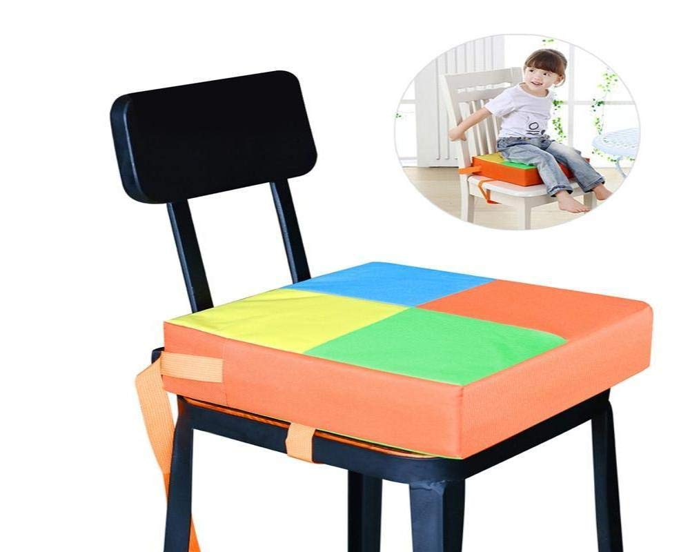 Phonecessity Baby Kids Children Dining Chair Booster Cushion Seats Dis-mountable and Adjustable Booster