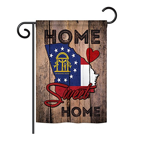 - Ornament Collection State Georgia Home Sweet Home - Americana States Decoration - 13