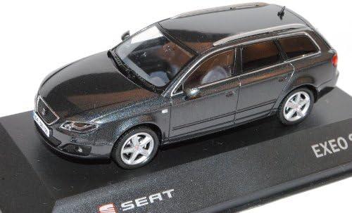 Seat Exeo St Kombi Track Grau Facelift Ab 2011 1 43 Modell Auto Mit Individiuellem Wunschkennzeichen Spielzeug