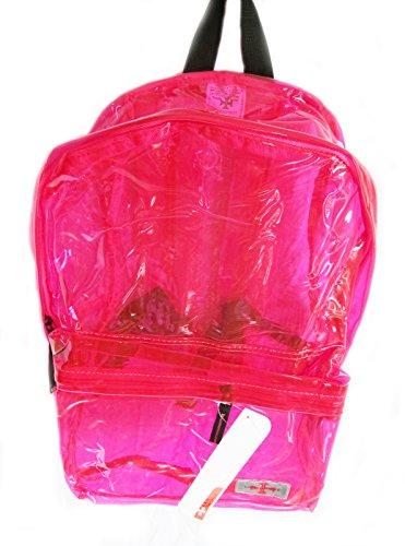 Viaggio In Pantaloncini Rosa Zainetto / Zainetto Rosa Trasparente