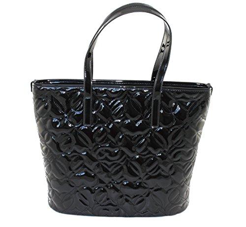 Armani Jeans  922028, Cabas pour femme noir Schwarz B 36 x H 30 x T 11