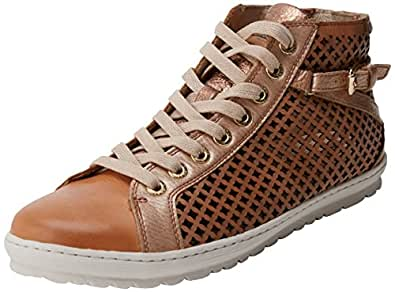 Pikolinos Women's Lagos 901 Hi-Top Trainers, Orange (Apricot), 5 UK