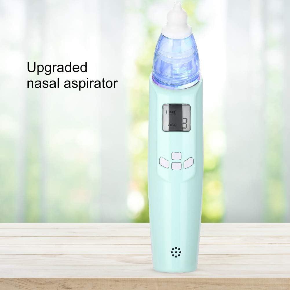 Aspirador nasal eléctrico, Limpiador de moco portátil para bebés ...