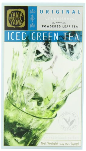 Yamamotoyama Iced Green Tea, Unsweetened, 1.4 Ounce Box