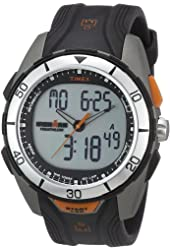 Timex® Men's IRONMAN® 50-Lap Dual-Tech  Silver Case Sports Watch #T5K402