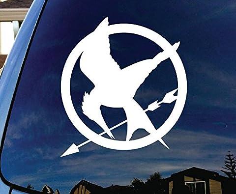 Mockingjay Hunger Games Car Window Vinyl Decal Sticker 4